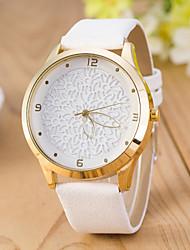 Women's  Fashion  Simplicity  Quartz Pierced Leather Lady Watch Cool Watches Unique Watches