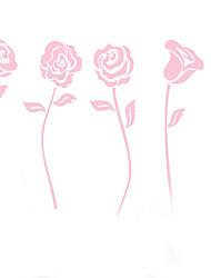 стены стикеры стены стикеры наклейки стиле розового цветов ПВХ стены