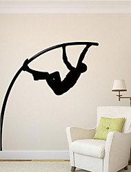 Wall Stickers Wall Decals Style High Jump Waterproof Removable PVC Wall Stickers