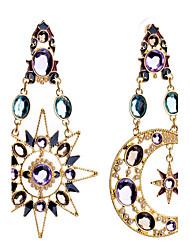 Earring Drop Earrings Jewelry Women Alloy 1set Silver