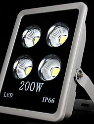 morsen®cob conduit 200w lumière crue imperméable à l'eau froide projecteur ac85-240v blanc conduit en plein air chaud /