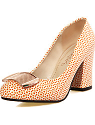 Women's Shoes Customized Materials Chunky Heel Heels Heels Wedding / Office & Career / Party & Evening /