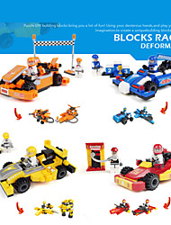 4design/lot Kart Racing model Model Building Blocks educational assembly plastic toys Plastic Special Helmet Models