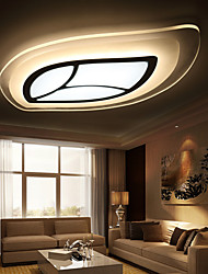 25W Modern/Contemporary LED Metal Flush Mount Living Room / Bedroom / Dining Room / Study Room/Office