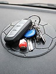 ziqiao salpicadero de un coche modelo del fútbol pegajosa estera cojín anti del resbalón del teléfono móvil titular GPS Accesorios
