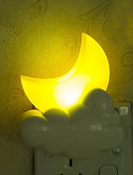 belle lune lumière intelligente urgence contrôlée a conduit la lumière de nuit pour chambre d'enfant décoration de la maison