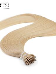 """neitsi® 20 """"1 g / s nano Ringschleife gerades Haar 100% Echthaar Haarverlängerungen 22 # include Haar-Tools"""