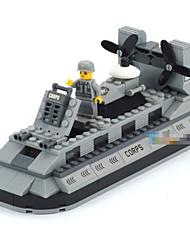 Marineschiffe Luftkissen Bausteine 3d MOBIL Spielzeug Kind Mini-Figur-Sets Modell Spielzeug Minifiguren Ziegel