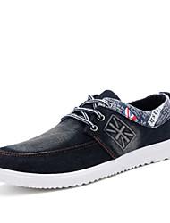 Masculino-RasosRasteiro-Preto Azul Azul Marinho-Lona Jeans-Casual