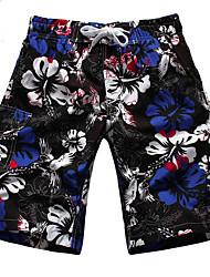 Men's Cotton Floral Swim Shorts