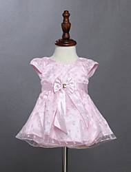 Girl's Pink Dress ,Cotton Summer