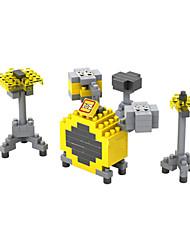 Blocos de Construir para presente Blocos de Construir Modelo e Blocos de Construção Bateria ABS 8 a 13 Anos Amarelo Brinquedos