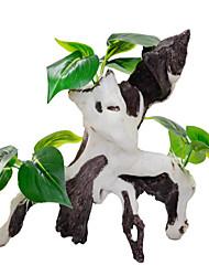Aquário Decoração Ornamentos / Planta Aquática Artificial Plástico / Silicone