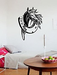 Horse Shoe Horse Adhesive Wall Mural Stylish Vinyl Decal Art Wall Stickers Home Decor