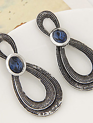 Drop Earrings Alloy Statement Jewelry Fashion Drop Silver Bronze Jewelry Party Daily Casual 1 pair