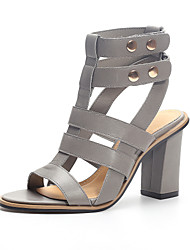 Women's Shoes Chunky Heel Heels / Slingback / Gladiator / Open Toe Sandals Party & Evening / Dress / Casual