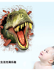 LC7003 Hot Sale 3D Dinosaur Wall Stickers for TV Wall Kids Bedroom Wall Home Decoration