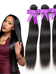 4Pcs Cheap Peruvian Virgin Hair Straight 3 Bundles Peruvian Human Hair Extensions Natural Color Peruvian Straight Hair