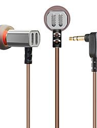 3.5mm bedraad oordopjes (in het oor) voor media player / tablet | mobiele telefoon | computer met microfoon
