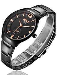 Men's Watch BOSCK With Ultra-Thin Black Tungsten Alloy Waterproof Tungsten steel strap Quartz Watch Wrist Watch Cool Watch Unique Watch