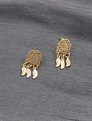 Earring Drop Earrings Jewelry Women Wedding / Party / Daily / Casual / Sports Alloy 1 pair Gold
