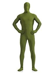 Zentai- paraUnisex-Disfraces Zentai-Licra / Spandex-Verde-