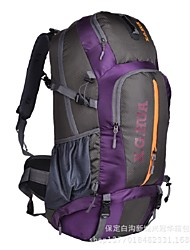 Men Canvas / Nylon Sports / Outdoor Backpack / Sports & Leisure Bag / Travel Bag-Purple / Blue / Yellow / Orange