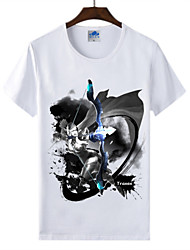 Cotton Lycra Men's T-shirt/World of Warcraft Wow Ink Series 1Pc Drow Ranger