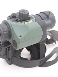 RONGER 1.5X 24mm mm Monoculaire BAK4 Militaire / Vision nocturne 25m/60m 2cm Mise au point Centrale Entièrement  Multi-traitéesChasse /