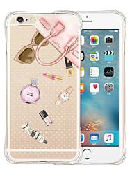 Pour Coque iPhone 6 Coques iPhone 6 Plus Motif Coque Coque Arrière Coque Dessin Animé Flexible Silicone pouriPhone 6s Plus/6 Plus iPhone