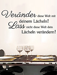 German Quote Wall Sticker Vevander Diese Welt Mit Wall Decals Motivation Stickers Home Decor