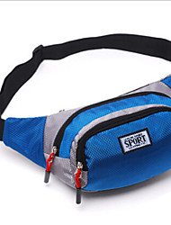 Men Canvas Sports / Waist Bag / Sports & Leisure Bag / Travel Bag-Blue / Green / Yellow