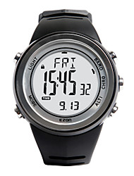 Sports Watch Men's / Ladies' / UnisexLCD / Altimeter / Compass / Pulse Meter / Thermometer / Calendar / Chronograph / Dual Time Zones /