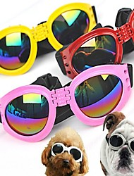 Dog Sunglasses / Clothes/Clothing Red / Black / White / Pink / Yellow Spring/Fall Waterproof