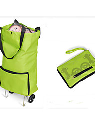 Travel Packing Organizer / Inflated Mat Foldable Travel Storage Fabric Green