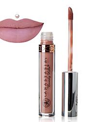 Lipglosses Våd Khaki Glitter glans (gloss) / Farvet glans / Fugt / Længerevarende / Naturlig / ÅndbartSølv / Rød / Orange / Burgundy /