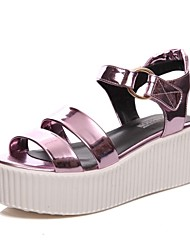 Women's Shoes Patent Leather Platform Platform / Slingback / Gladiator / Creepers / Comfort / Novelty / Ankle Strap /