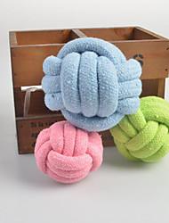 Wear Woven ball Pet Chew Toy(Random Color)