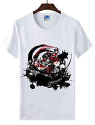 Cotton Lycra Men's T-shirt/World of Warcraft Wow Ink Series 1Pc Bloodseeker