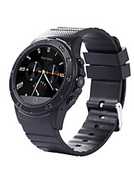 K6 Round Dial HeartRate Smartwatch  MTK6260 Music Pedometer Sedentary Reminder Sleep Monitor Bluetooth 3.0 / 4.0