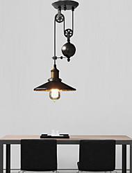 Max 60W Pendelleuchten ,  Rustikal/ Ländlich / Retro / Rustikal Andere Feature for Ministil Metall Küche / Korridor / Garage