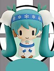 Vocaloid Hatsune Miku 11CM Las figuras de acción del anime Juegos de construcción muñeca de juguete