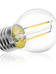 g45 2w e27 180lm 360 градусов теплый / холодный белый цвет лампа накаливания эдисона, светодиодная лампа накаливания (ac220v)