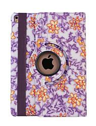 360 degrés cas de couverture porcelaine bleue et blanche pu flip en cuir pour iPad 4/3/2 (couleurs assorties)