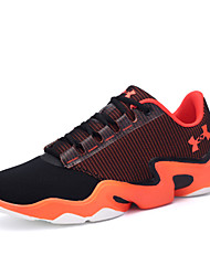 Plus Size Men's High-top Cushioning Basketball Shoes Have Strong Grip with Non-slip Soles