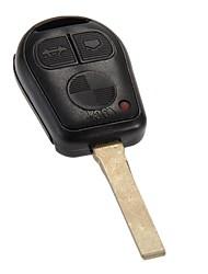 nouveau remplacement télédéverrouillage clé étui fab lame pour bmw