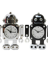 Robot Desk Alarm Clock  Home Table Decoration Gift for Children Mute Alarm Clock