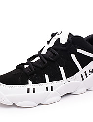 Men's Shoes Outdoor / Athletic Polyester / Fabric / Tulle Fashion Sneakers / Athletic Shoes Blue / Black and White