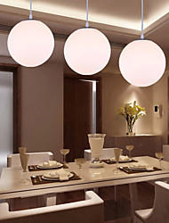 1 Lights 20CM Max 60W Modern/Contemporary Glass Pendant Lights Living Room / Dining Room / Kitchen