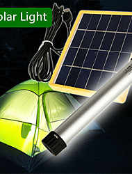 HRY® 25 LEDS Cool White Color Multi-use Solar Light Lamp USB Flashlight Torch Power Bank Specially for Camping Hiking